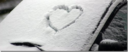 Snow Heart Header