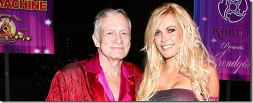 Hugh Hefner and Crystal Harris - WENN.com
