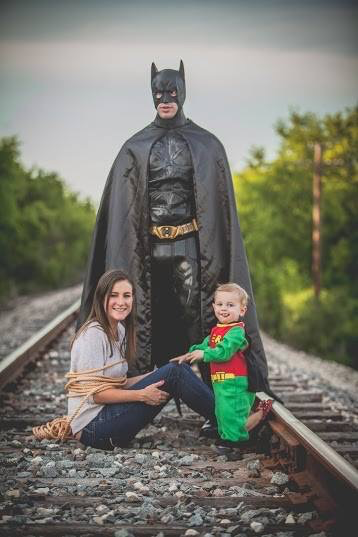 BatMan Family Photo