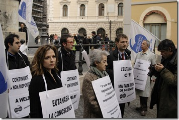 Euthanasia Protest by Global Panorama