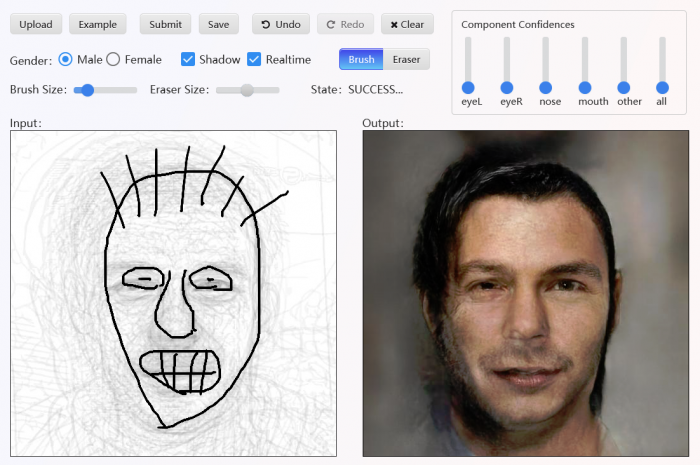 AI Creates a Image of a Person from The Worst Sketches