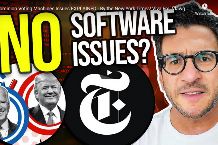 New York Times Claims There Is No Errors With Dominion Software– Or Does It?