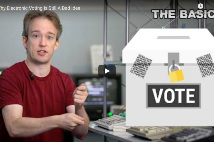 Why Electronic Voting is a Still Bad Idea