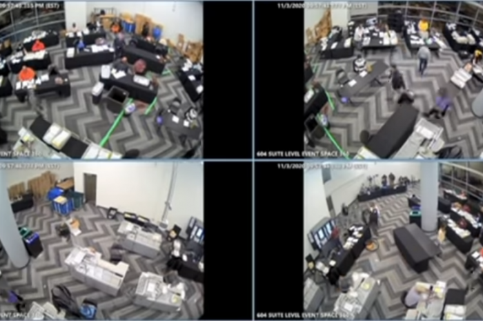 This Video Shows Illegal Activity, Even If The Votes are Legitimate